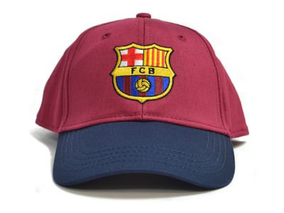 Barcelona Baseball Cap Burgundy