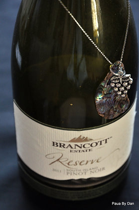 Wine bottle charm