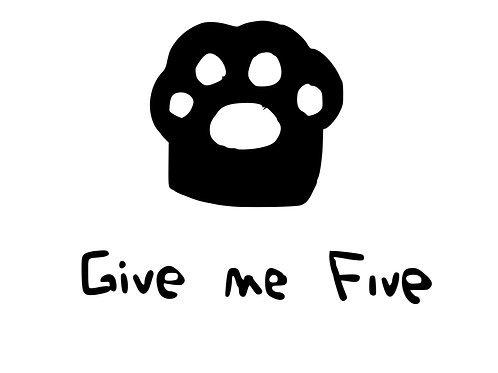 Give Me Five T-Shirt