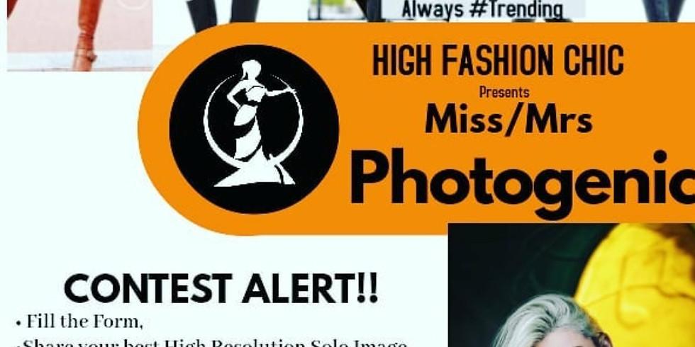 Miss/Mrs Photogenic 2020