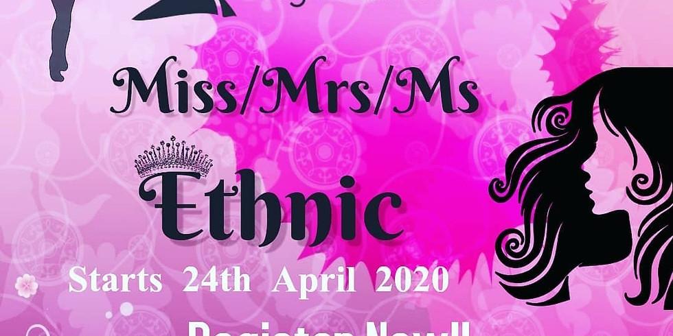 Miss/Mrs/Ms Ethnic 2020