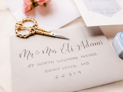 Calligraphy Ideas for Your Big Day!