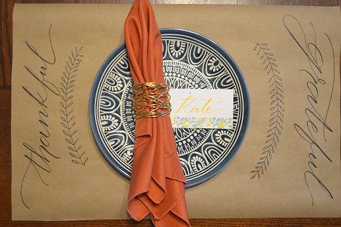 Custom Craft Paper Place Mats