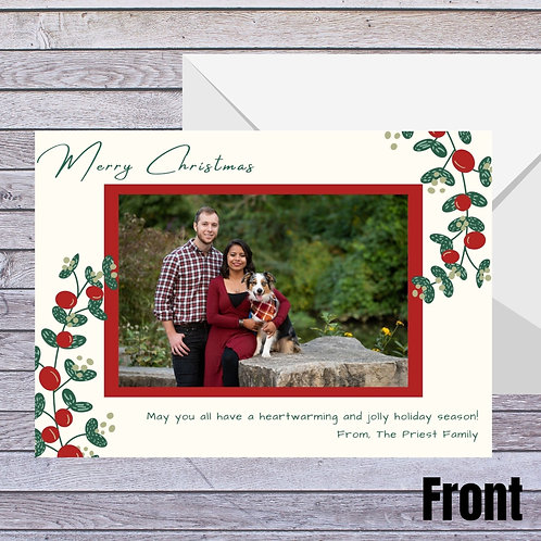 Simple Photo Holiday Card