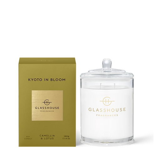 KYOTO IN BLOOM - CAMELLIA & LOTUS CANDLE