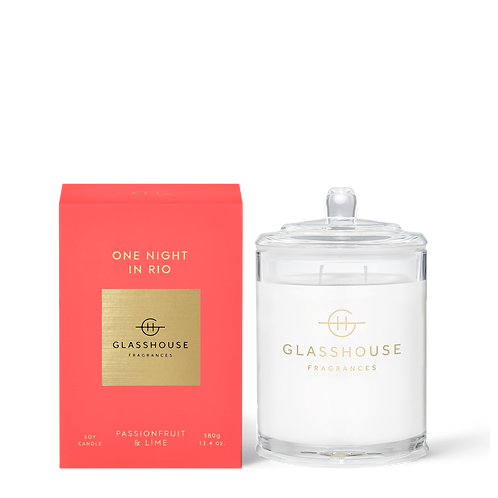 ONE NIGHT IN RIO - PASSIONFRUIT & LIME CANDLE