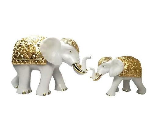 Elefante Bianco e Oro -Sequenze- Grande