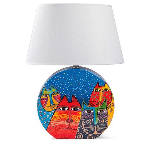 Lampada Laurel Burch Blu -EGAN