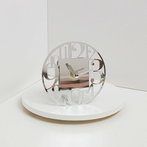 Bomboniera matrimonio Claraluna orologio specchio rotondo
