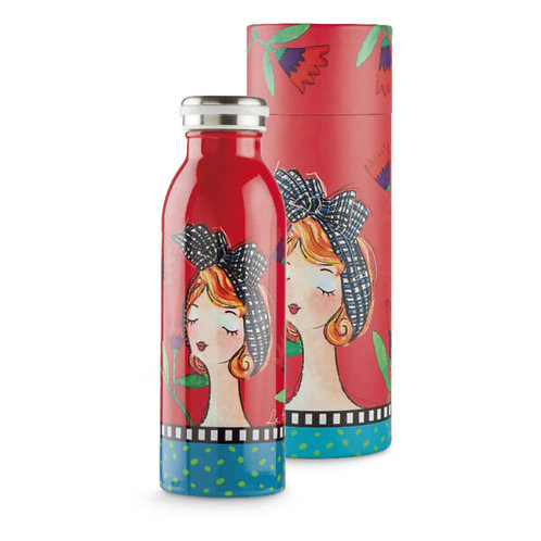 Bottiglia termica Le Pupazze Rossa ML.500 -EGAN