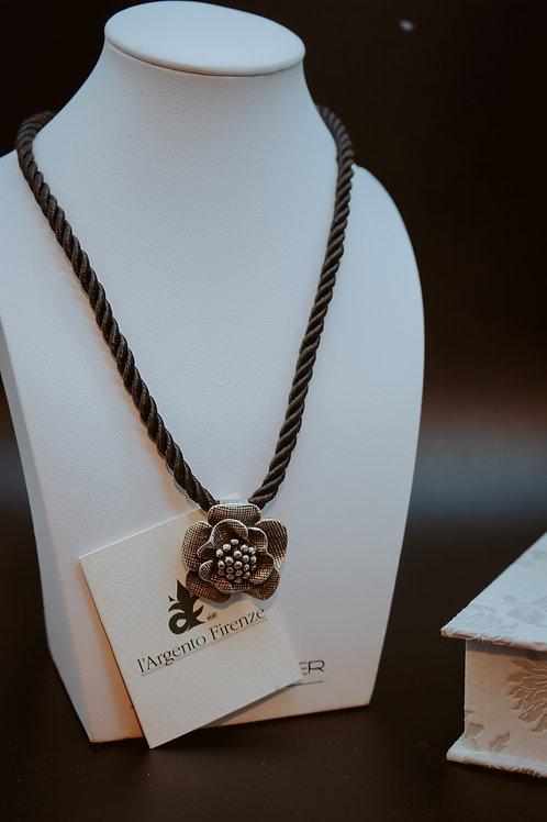 Collana fiore - L'argento di Firenze