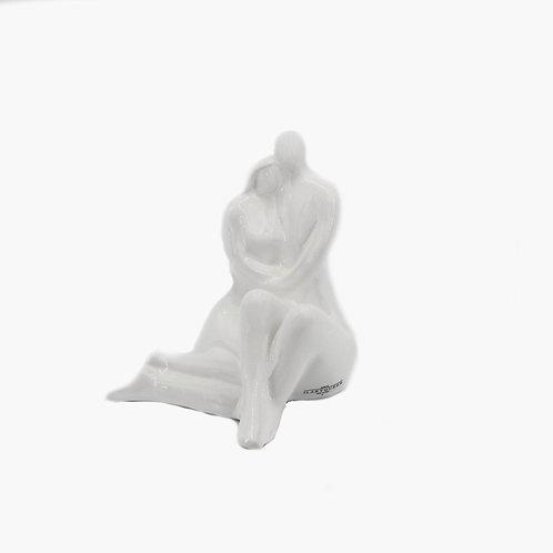 Bomboniera Innamorati bianco lucido -Ilary Queen