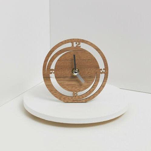Bomboniera  Claraluna  orologio legno rotondo