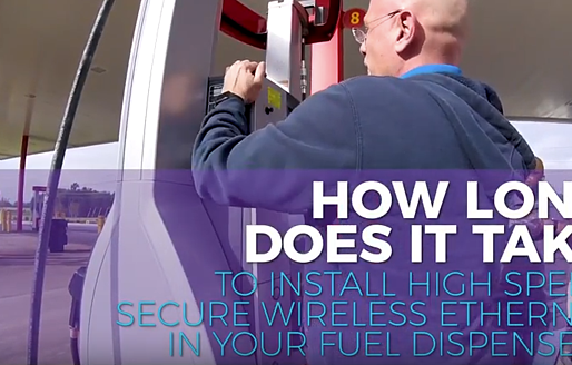 How Long Does It Take to Install Secure Wireless Ethernet at Your Fuel Pump?
