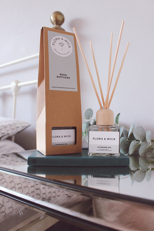 Lavender Spa Reed Diffuser
