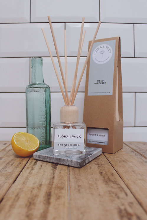 Gin & Juniper Berries Reed Diffuser