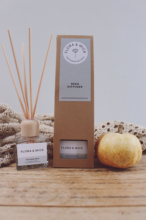 Autumn Days Reed Diffuser