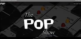 The Pop Show Website