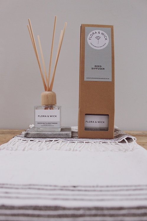 Rock Salt and Driftwood Reed Diffuser