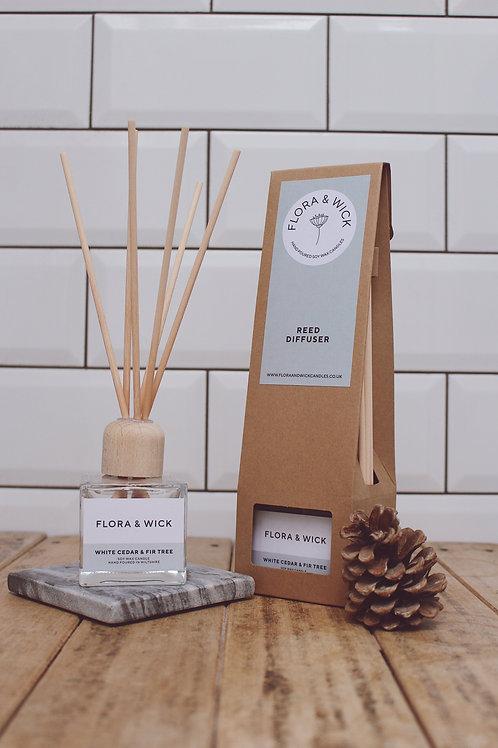 White Cedar & Fir Tree Reed Diffuser
