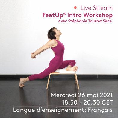 FeetUp Atelier 26 mai  Infos et inscriptions: Cliquez sur le lien 😀