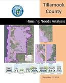 Tillamook 2019 Housing Needs Analysis Co
