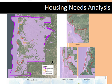 2019 Tillamook County Housing Needs Analysis