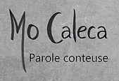 MO Caleca Parole conteuse noir sur gris