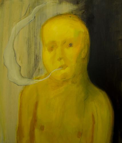 Souless 60 x 50cm, Acrylic on canvas