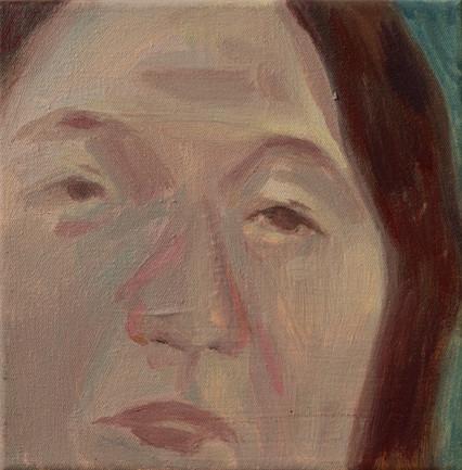 pi eunju 19 x 18cm, Acrylic on canvas