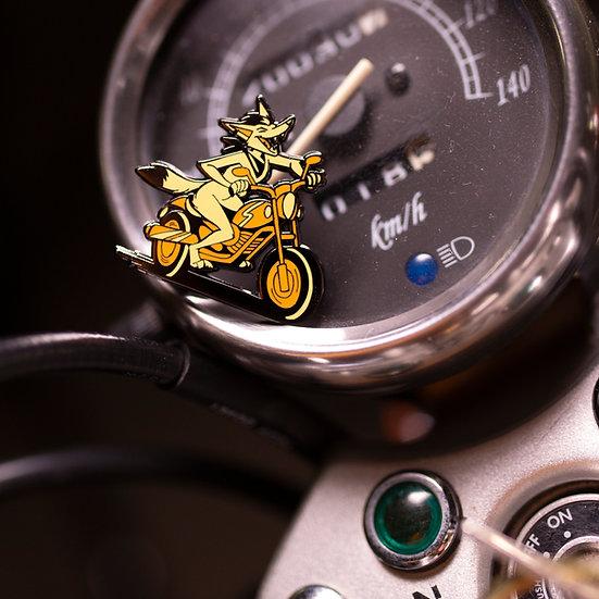 'Moto Yote' Hard Enamel Pin