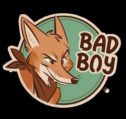 'Bad Boy' Sticker