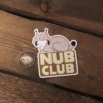 """Nub Club"" Sticker"