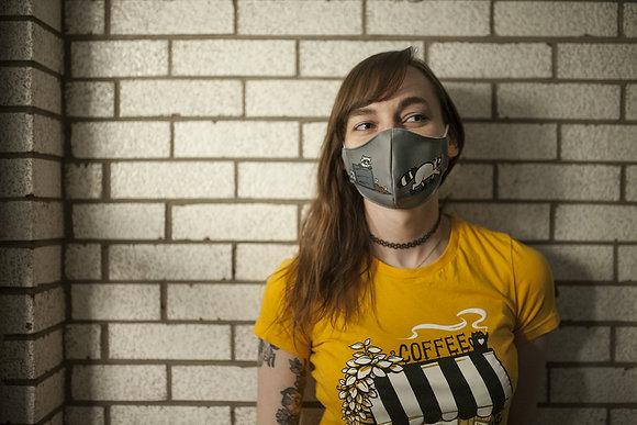 'Raccoons' Reusable Facemask