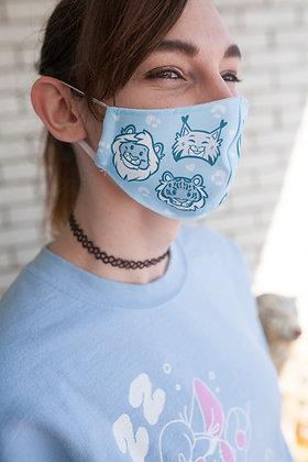 'Wild Cats' Reusable Face Mask