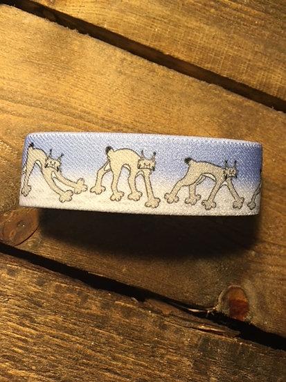 'Wandering Lynx' Wrist Band