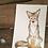 Thumbnail: Coyote & Flower 4x6 Matte Print
