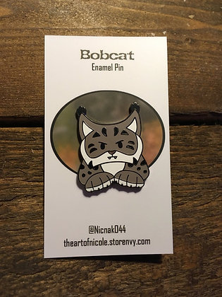 Wild Lynx Hard Enamel Pin Collection- Bobcat
