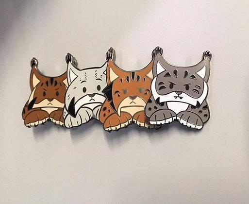 Wild Lynx Hard Enamel Pin Collection