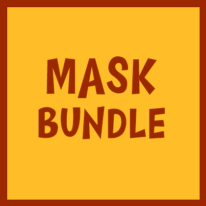 2 Reusable Face Masks For $25