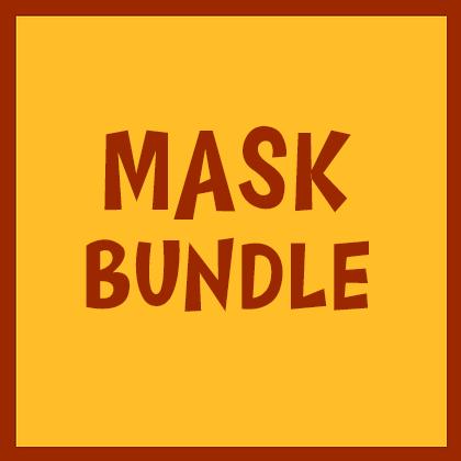 2 Reusable Face Masks For $35