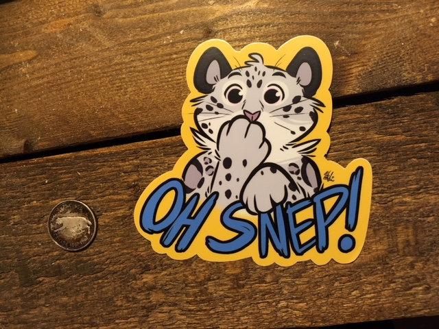'OH SNEP!' Sticker