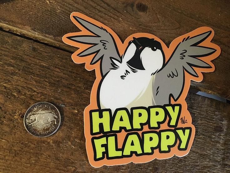 'HAPPY FLAPPY' Sticker