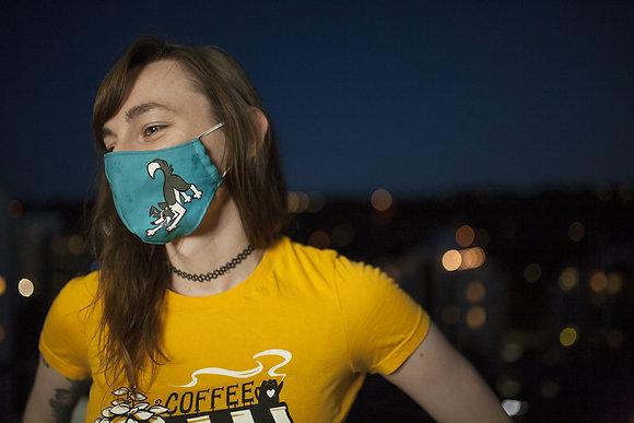 'Dog & Ball' Reusable Facemask