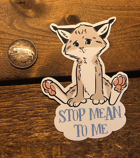 'STOP MEAN TO ME' Magnet