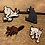 Thumbnail: Canadian Critters Wooden Pin Collection
