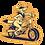 Thumbnail: 'Moto Yote' Sticker