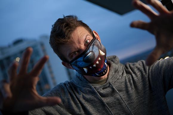 'Werewolf' Reusable Face Mask *SPECIAL HALLOWEEN EDITION*