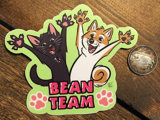 BEAN TEAM Sticker