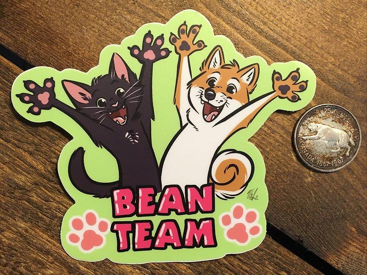 'BEAN TEAM' Sticker